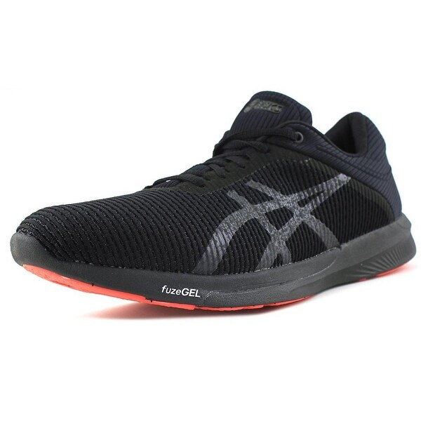 Asics Fuze X Rush CM Men Round Toe Synthetic Black Running Shoe