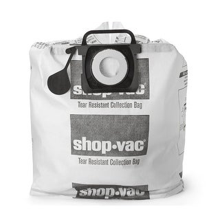 Shop-Vac 9021333 Tear Resistant Dry Collection Bags, 5-10 Gallon
