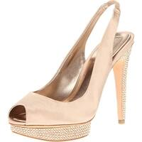 BCBGMAXAZRIA Women's MA-Falcon Platform Sandal - 10