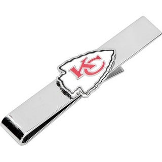 Kansas City Chiefs Tie Bar - Silver