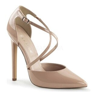Pleaser Women's Sexy 26 Nude Patent