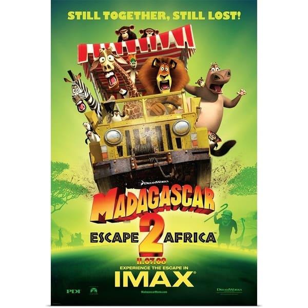 Shop Poster Print entitled Madagascar: Escape 2 Africa (2008