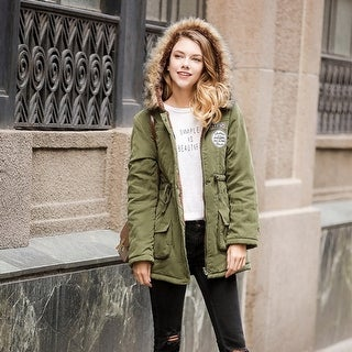 Link to Lamb Wool Coat Women Parka Casual Patchwork Overcoat Similar Items in Women's Outerwear