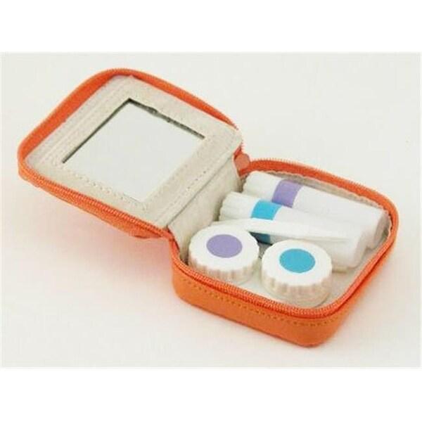 Creative Gifts International 2.5 x 3 in. Contact Lens Kit, orange