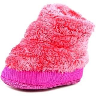 The North Face NSE Infant Fleece Bootie Infant Round Toe Canvas Pink Snow Boot