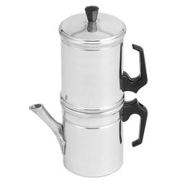 Ilsa 8946 Neapolitan 6 Cup Aluminum Stovetop Coffee Maker