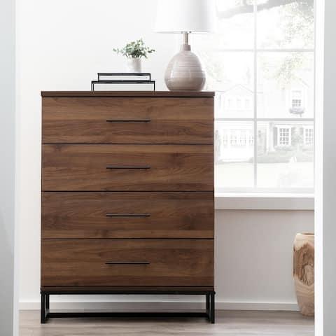 Brookside Eleanor Contemporary Metal and Wood Dresser