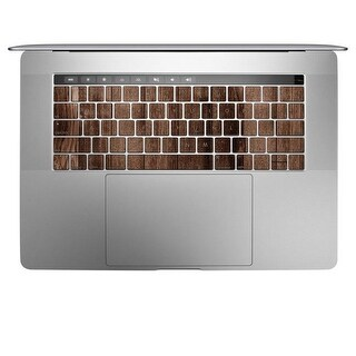 DecalGirl Apple MacBook Pro 13 & 15 Keyboard Skin - Stained Wood