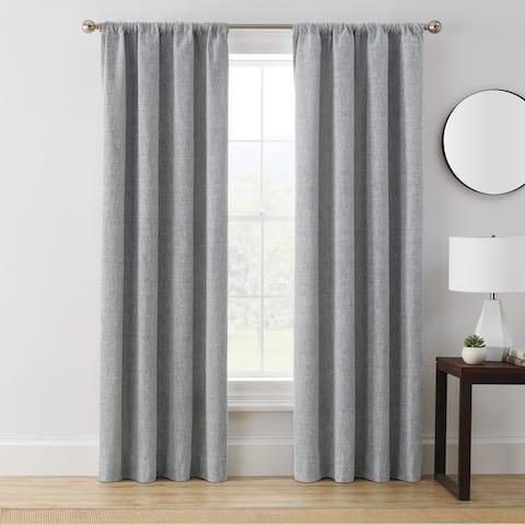 Brookstone Troy 100-Percent Blackout Window Curtain Panel