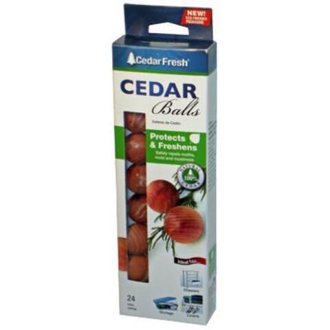24 Count Cedar Moth Ball