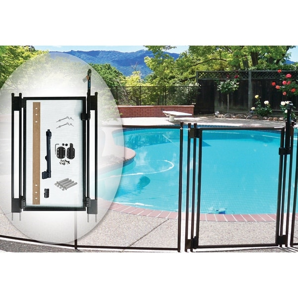Swimming Pool Kits Direct: Shop Self-Closing Gate Kit, By Pool Fence DIY