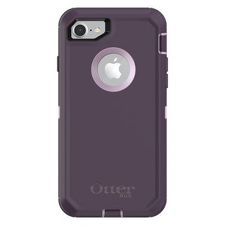 OtterBox DEFENDER SERIES Case for iPhone 8 & iPhone 7 - Purple Nebula (Winsome Orchid/Night Purple)