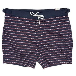 Tommy Hilfiger Mens Stripe Swim Trunks Board Shorts