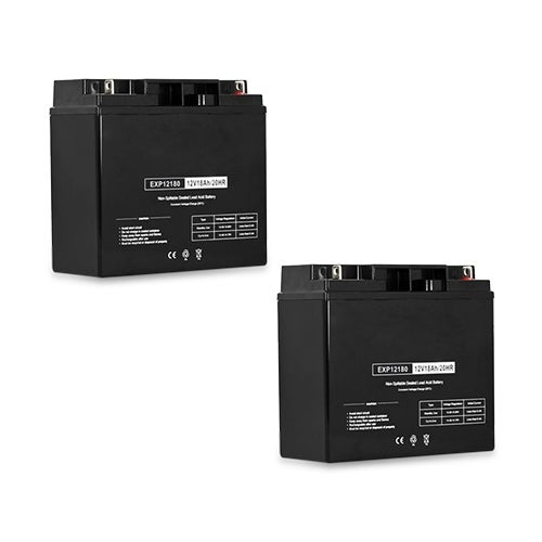Replacement AGM SLA Battery 12V-18Ah 2-Pack Replacement AGM SLA Battery