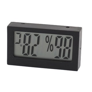 LCD Display Digital Temperature Humidity Tester Thermometer Hygrometer