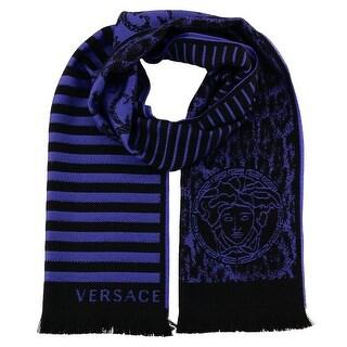 Versace IT00634 100% Wool Mens Scarf