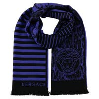 Versace IT00634  100% Wool Mens Scarf