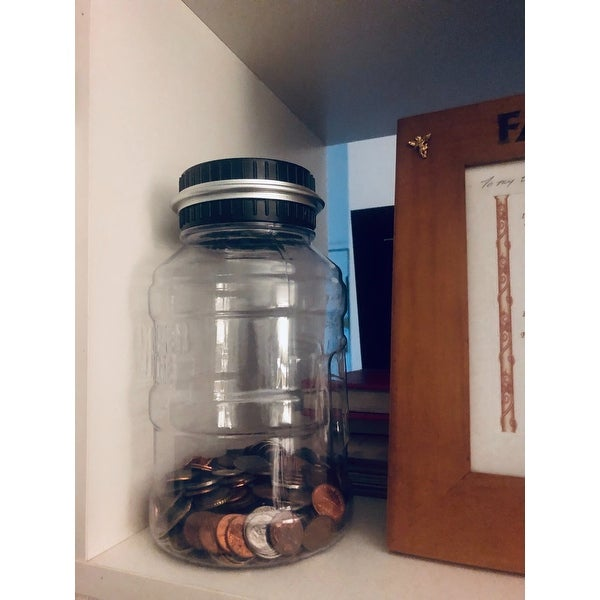 Shop Sharper Image Coin Counting Jar Free Shipping On Orders Over