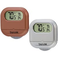 Taylor 1700AST2 Digital Suction Cup Thermometer, Assorted Colors
