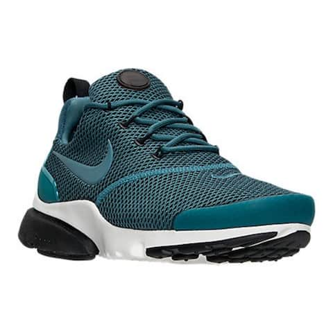 huge discount e249e 15f85 Nike Womens Presto Fly Se Fabric Low Top Lace Up Running Sneaker