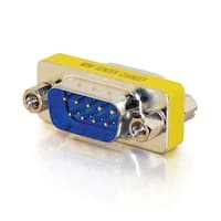 C2g / Cables To Go 02782 Db9 Male / Male Mini Gender Changer (Coupler)