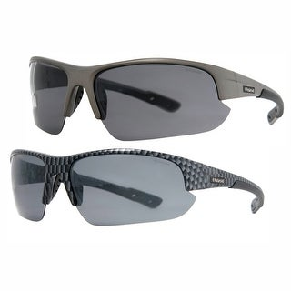 Polaroid Men's Polarized Feather Weight Sport Sunglasses