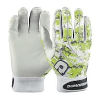 DeMarini Digi Camo Neon Green Baseball/Softball Mens Batting Gloves WTD6104GRM