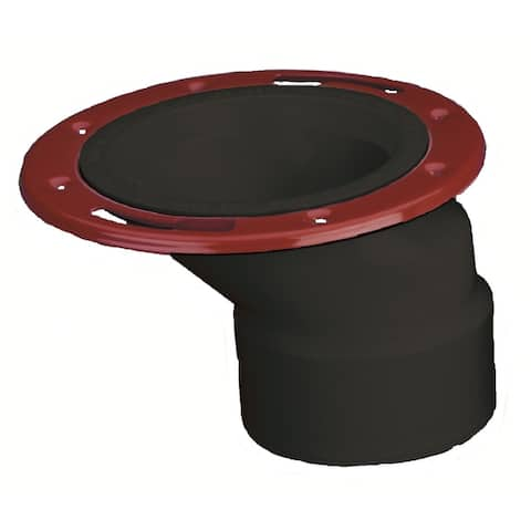 "Oatey 43500 Level Fit Offset Closet Flange, 3"" x 4"""