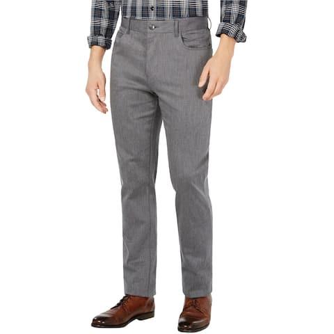 Ryan Seacrest Mens Cross Hatch Casual Chino Pants