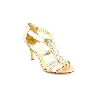 Style & Co Leilani Women Open Toe Synthetic Gold Sandals