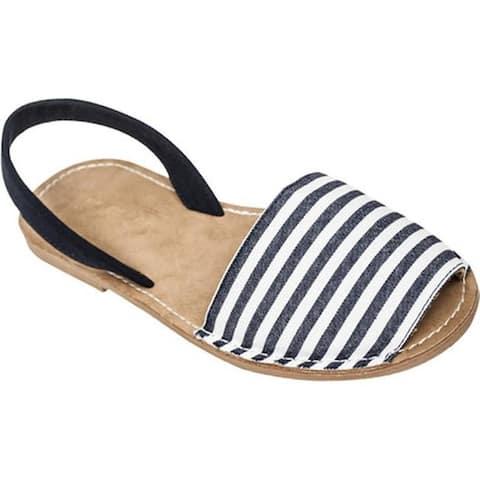 edb5a23f46a4 Tidewater Sandals Women s Boca Slingback Sandal Navy Natural