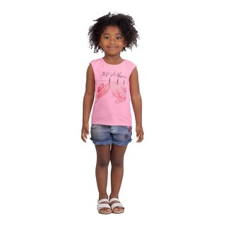 Pulla Bulla Toddler Girl Sleeveless Tee Graphic Tank Top