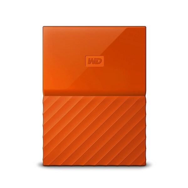 Western Digital - Wd 1Tb My Passport Portable Orange