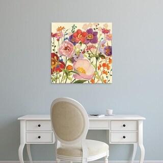 Easy Art Prints Shirley Novak's 'Couleur Printemps II' Premium Canvas Art