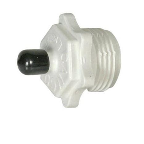 Camco 36103 Blow Out Plastic Plug, White