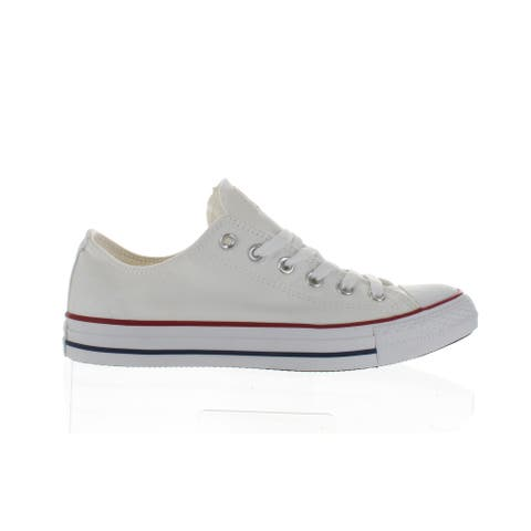 Converse Mens All Star Optical White Skateboarding Shoes Size 7.5