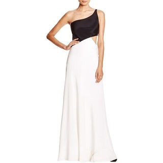 Jill Stuart Womens Semi-Formal Dress One Shoulder Cut-Out