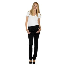 Lola Pull On Bootcut Jeans, Leah-BLK