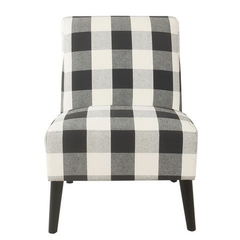 HomePop Modern Armless Dining Accent Chair