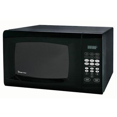 Shop Magic Chef Mcm990b 0 9 Cu Ft Countertop Microwave