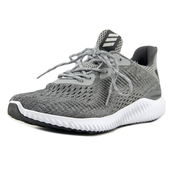 b69b49c8a Adidas Alphabounce Engineered Mesh Women Round Toe Synthetic Gray Sneakers