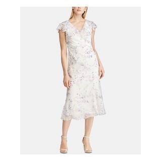 Link to RALPH LAUREN Purple Below The Knee Dress 18 Similar Items in Dresses