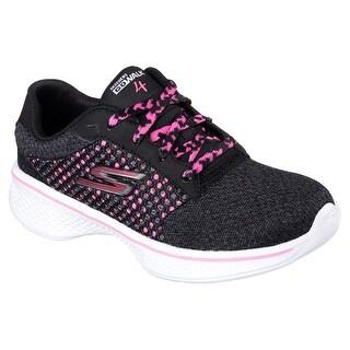 Skechers 81117L BKHP Girl's SKECHERS GOWALK 4 - EXCEED Sneaker