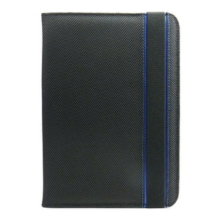 "JAVOedge Nylon Folio Case with Sleep / Wake Function for the Kindle Fire HD  7"" (Blue)"
