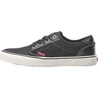 Levi's Boys Venice Denim Canvas Lace Up Skate Shoes - 4.5 medium (d)
