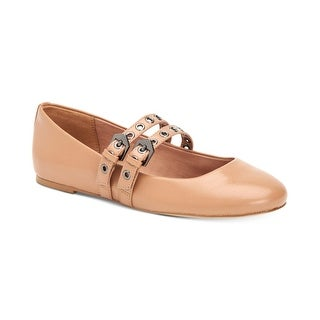 BCBGeneration Womens Make up Closed Toe Ankle Strap Mary Jane Flats