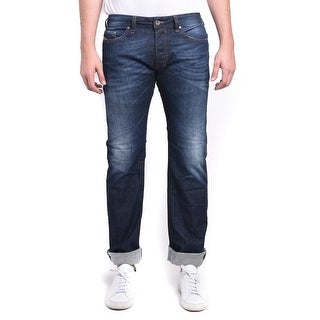 Diesel Safado Men's Regular Slim-Straight Stretch Denim Jeans 0RF06