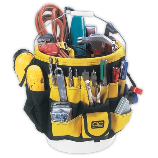 CLC 4122 ToolWorks Bucket Organizer, 61 Pockets