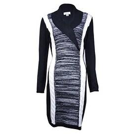 3b2b7ce129d Shop Calvin Klein Women s Cable Knit Colorblock Sweater dress