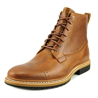 Timberland West Haven City Sidezip Men  Round Toe Leather Tan Boot